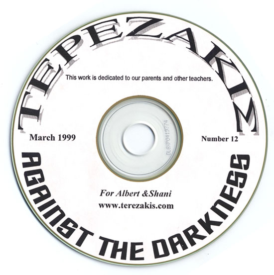 Against the Darkness Peter Terezakis 1999