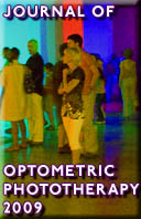 Journal of Optometric Phototherapy 2009